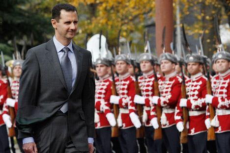 El presidente de Siria Bachar Al Assad. Foto de AP.