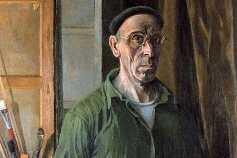 Autorretrato. 1950-1952. Óleo sobre lienzo. 116 x 93,5 cm. Colección privada