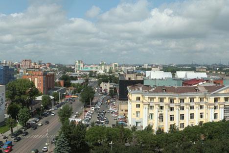 Cheliábinsk, ubicada 1.600 kilómetros al este de Moscú, en los Montes Urales. Foto de Lori