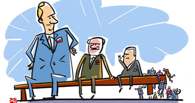 Caricatura de Alekséi Yorsh