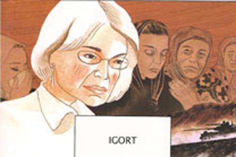 Portada del cómic de Igort