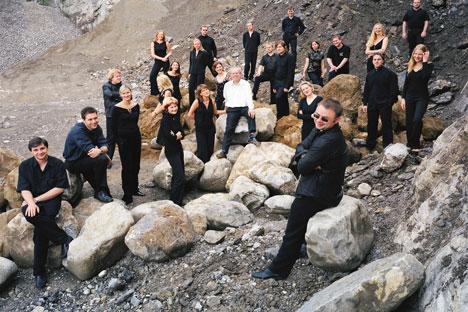 La agrupación esta compuesta de diversas nacionalidades eslavas. Foto de Christian Lutz
