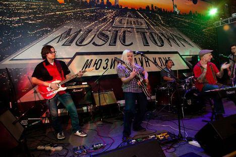 Actuación en directo en el Music Town de Moscú