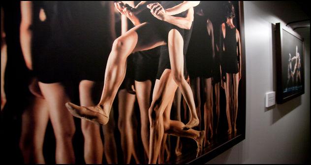Fotografía de la exposición realizada por Ferran Mateo