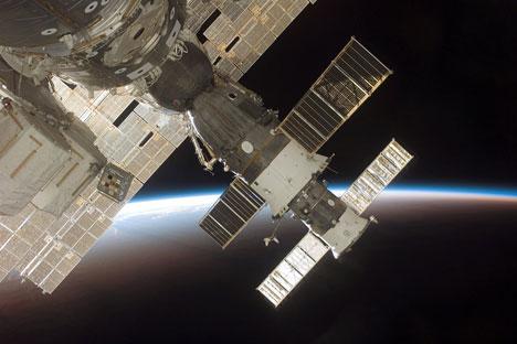 La Estación Espacial Internacional (EEI), foto de NASA