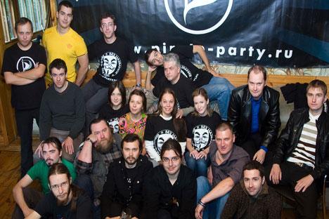 El Partido de los Piratas. Foto de Itar Tass