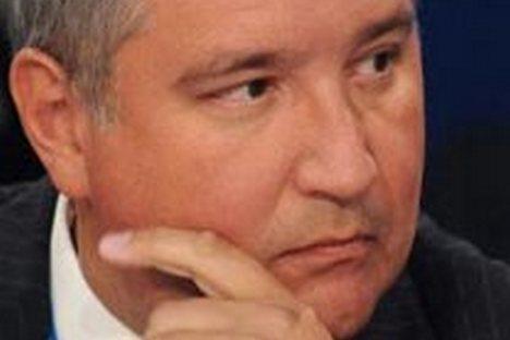 El viceprimer ministro Dmitri Rogozin.