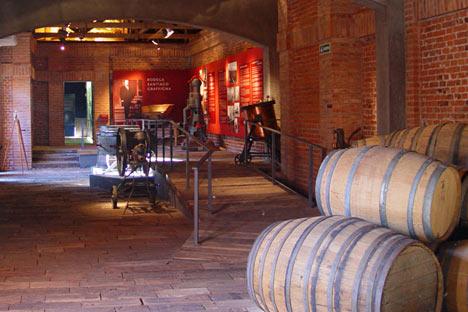 Museo del vino, bodega Graffigna, San Juan, Argentina. Foto de Wikipedia.org
