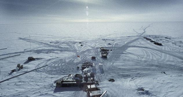 El lago Vostok en el Polo Sur. Foto de RIA Novosti