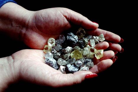 Alrosa produz 99% dos diamantes brutos da Rússia/ Foto: Reuters/Vostockphoto