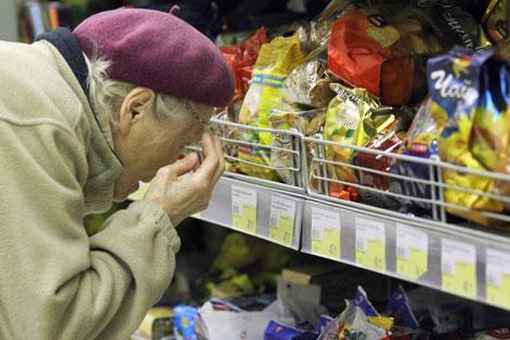 Analistas estimam aumento nos preços até 3% acima da previsão oficial do governo para 2010/Foto: Peter Kovalev_ITAR-TASS