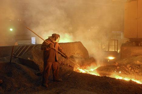 A brasileira Cosipar está no alvo do empresário Igor Zuzin, dono de mais de 66% da mineradora russa Mechel/Foto: Aleksandr Kondratuk_RIA Novosti