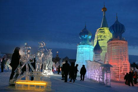 """Cristãos ortodoxos celebram Natal no dia 7 de janeiro e """"velho Ano Novo"""", no dia 13/Foto: RIA Novosti"""