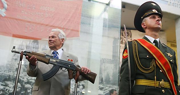Mikhail Kaláchnikov Foto: RIA Nóvosti
