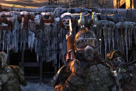 """Imagem do  jogo eletrônico """"Metrô 2033"""": Buscando recursos no exterior"""