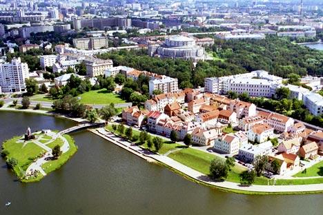 Una veduta di Minsk (Foto: Itar-Tass)