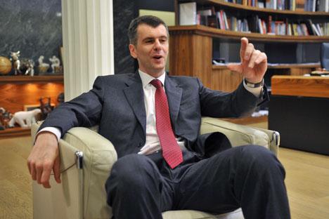Mikhail Prokhorov (Foto: Kommersant)
