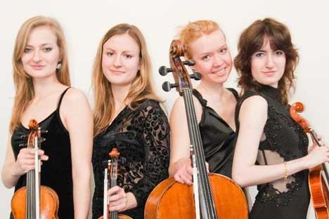 Il quartetto d'archi Focus Fortis (Foto: Ufficio Stampa)