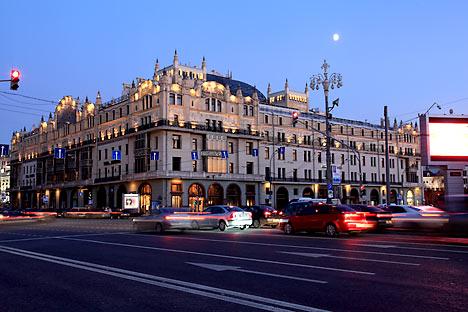 L'hotel Metropol di Mosca (Fonte: Lori/Legionmedia)