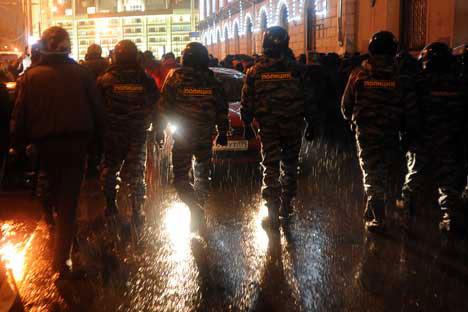 Le proteste di Mosca (Foto: Ap/Photostock)