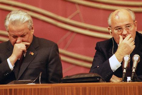 Centro presidenziale di Boris Eltsin/Itar-Tass, Yuri Lizunov e Aleksandr Chumichov