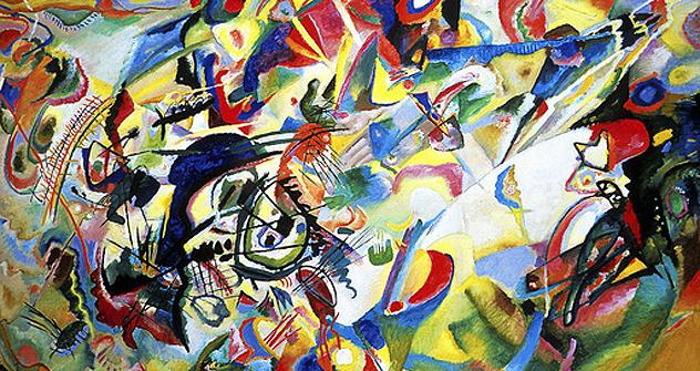 La pittura di Kandinskij. Foto Ria Novosti