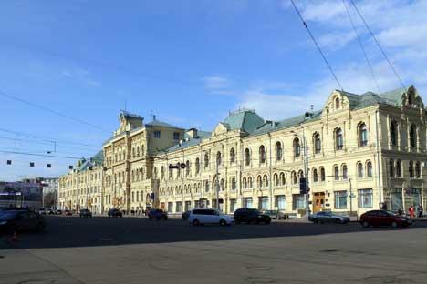 Il Museo Politecnico di Mosca (Foto Itar-Tass)