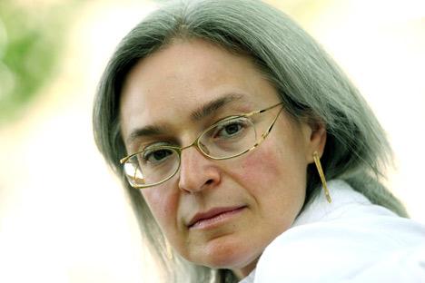 Anna Politkovskaja (Foto: Rex Features/Fotodom)