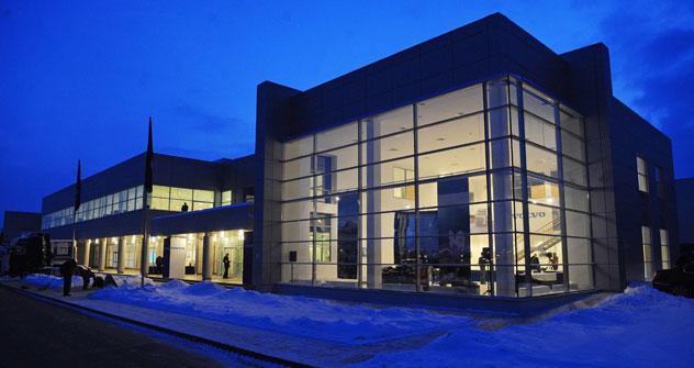 La sede di Volvo a Kaluga: è un investimento da 100 mln di euro. Foto: Itar-Tass