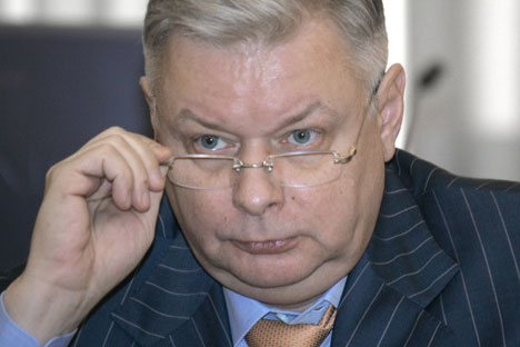Presidente del Fms Konsantin Romodanovskij. Foto: Ria Novosti