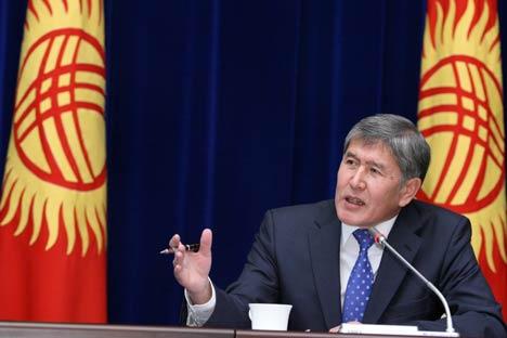 Almasbek Atambayev (Foto: Itar-Tass)