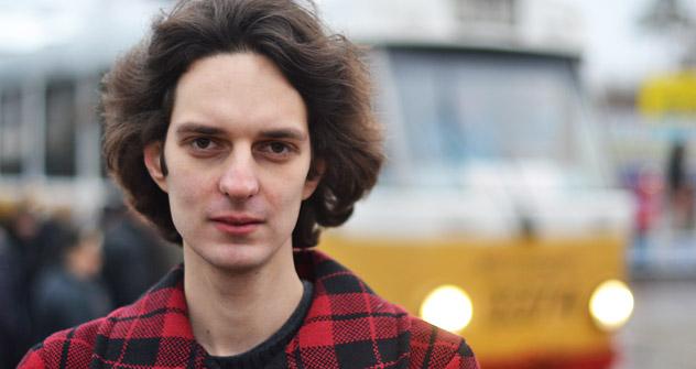 Max Katz nel seggio 2997 di Shchukino, Mosca (Foto: Moritz Gathmann)