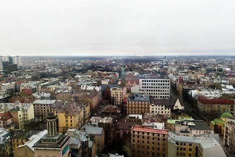 Riga, la capitale della Lettonia (Fonte: http://www.flickr.com/photos/lord_yo/3445483434/)
