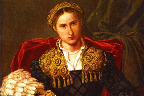 """""""Laura da Pola"""", Lorenzo Lotto. Foto: visipix"""