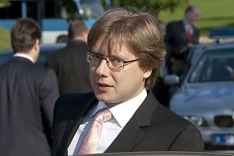 Nils Usakovs, sindaco di Riga (Foto: Ria Novosti)