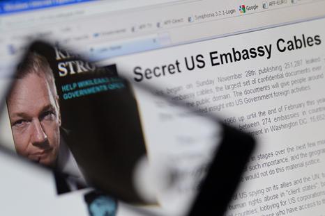 Nach der Verhaftung von Julian Assange legen russische Hacker MasterCard-Server lahm (Foto: AFP/East News)