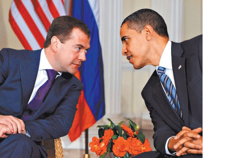 US President Barack Obama is expected in Moscow on July 6-8 for his first summit with Dmitry Medvedev