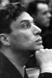 Boris Pasternak during the First Congress ofSoviet Writers, in 1934