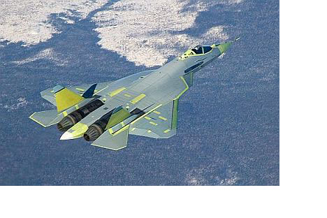 PAK FA shot: Sukhoi's latest fighter could be in service by 2015