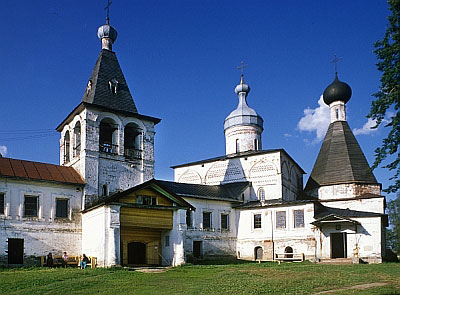 Ferapontov monastery, southwest view.© All photos by William Brumfield