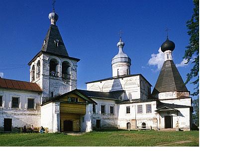 Monasterio de Ferapóntov, vista de sudoeste.© Todas las fotografías de William C. Brumfield