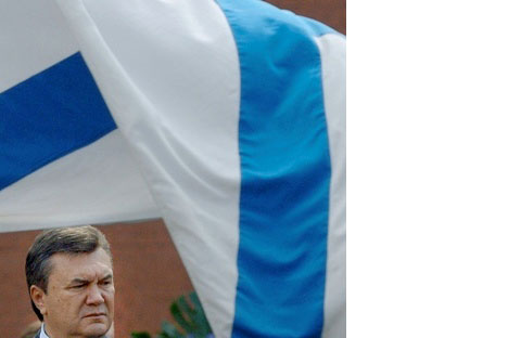 Il presidente ucraino Viktor Yanukovich.Foto di Grigory Sysoev, ITAR-TASS