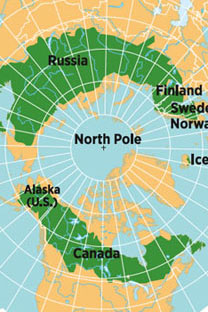 The vast majority of the world's northern forestis divided between Russia and Canada
