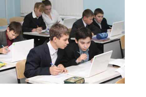 Russian schoolkids take advantage of the online revolution
