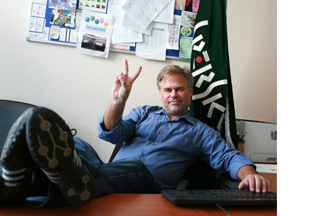 Eugene Kaspersky proves it's possible to builda Russian IT start-up from scratch