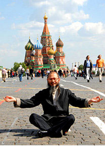 Un turista en la Plaza Roja