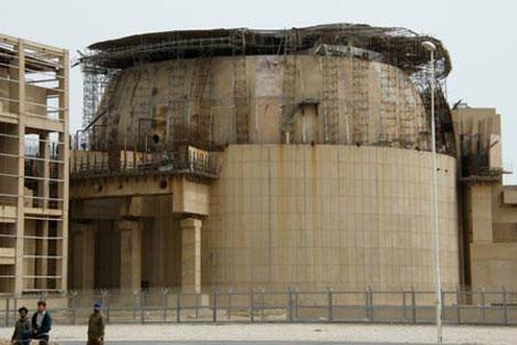 The Bushehr plant.  RIA Novosti