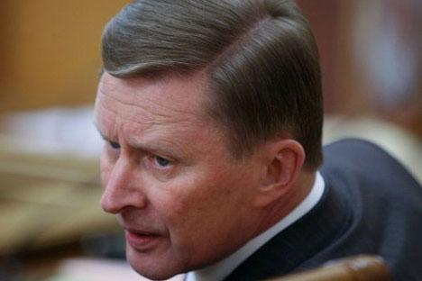 Russian Deputy Prime Minister Sergei Ivanov. Source: RIA Novosti