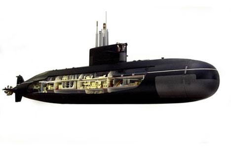 Amur-1650 class submarine. Source: ITAR_TASS