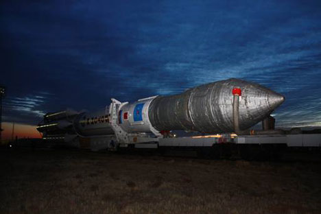 A booster 'Proton M'. Source: RIA Novosti